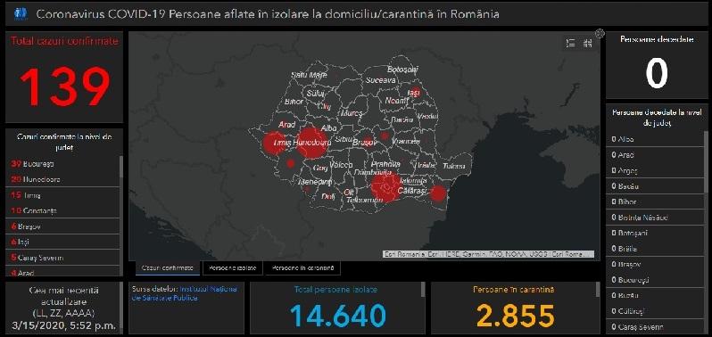 Vezi In Timp Real Evoluția Covid 19 Pe Teritoriul Romaniei Harta